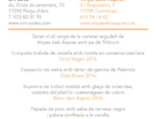 24 DE MARÇ: SA COVA / VINYES DELS ASPRES