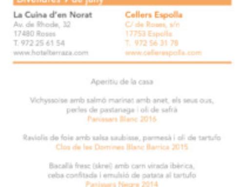 09 / 06 : La Cuina d'en Norat i Celler Cooperatiu d'Espolla